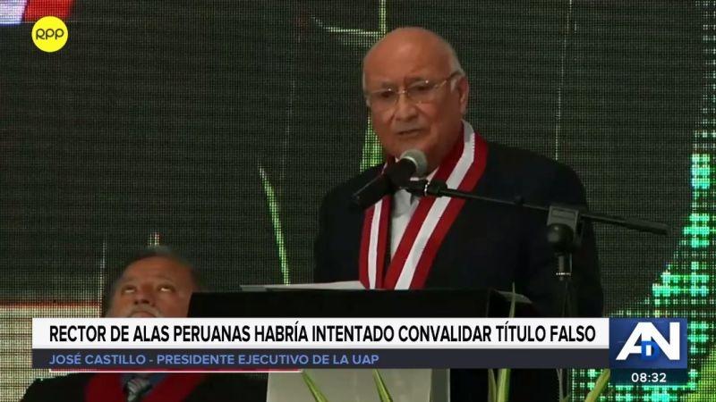 A Enrique Bedoya Sánchez se le vincula con una red internacional de títulos falsos.