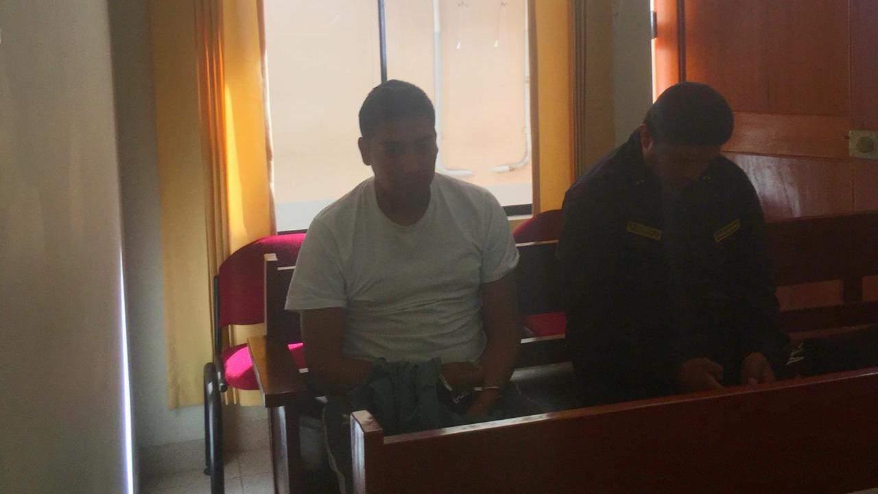 Luis Enrique Vélez Benavente, enfermero del Ejército, acusado de violación sexual.