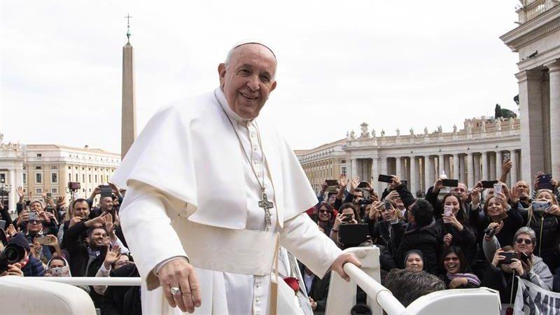 El papa Francisco brindó estas declaraciones durante la audiencia general celebrada en la Plaza de San Pedro.