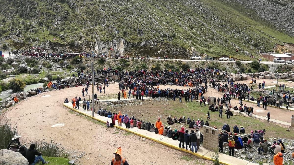 Comunidades de Challhuahuacho anunciaron un paro indefinido.