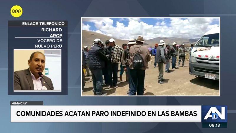 Richard Arce fue entrevistado en Ampliación de Noticias.