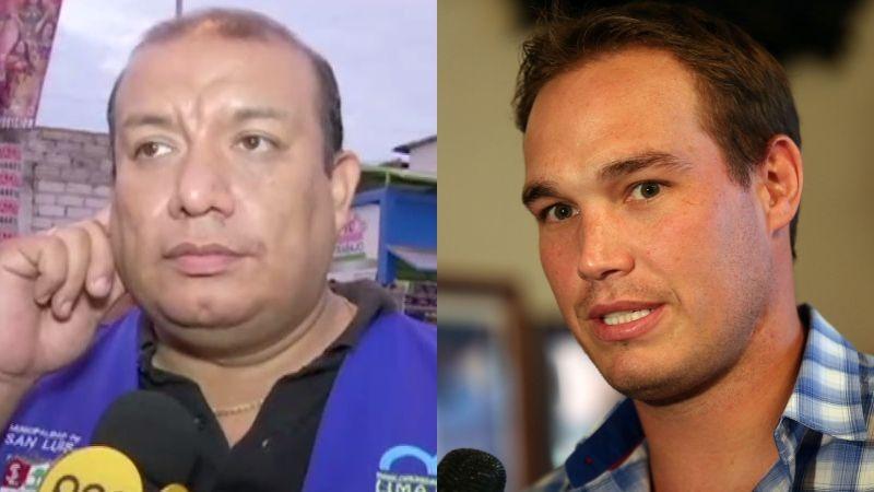 El alcalde de San Luis, David Rojas, cuestionó que su operativo contra los ambulantes no ha tenido el mismo respaldo que los encabezados por George Forsyth en La Victoria.