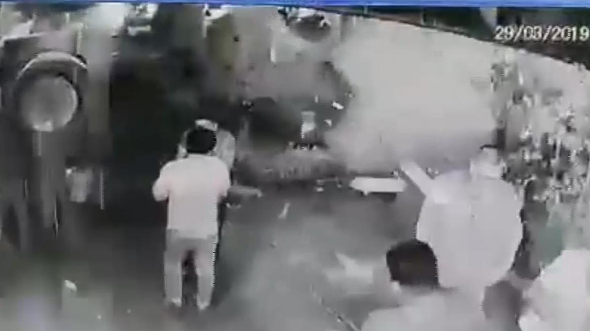 La explosión ocurrió a la medionoche del jueves.