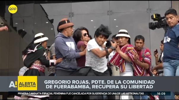 Gregorio Rojas dejó la sede de la Dirincri ubicada en Cercado de Lima.