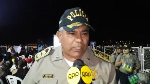 El general Ricardo Verona señala que el lugar anteriormente era conocido por su peligrosidad.