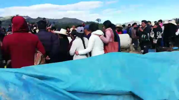 Mineros fallecen en Huamachuco.