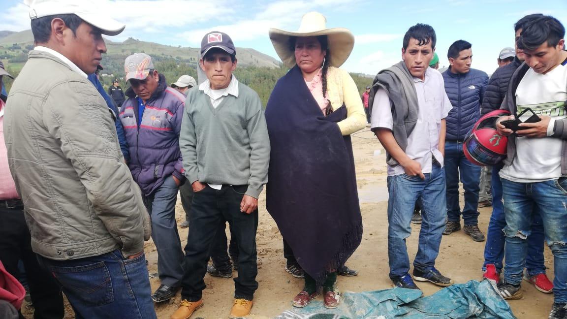 Muerte de mineros en la sierra liberteña.
