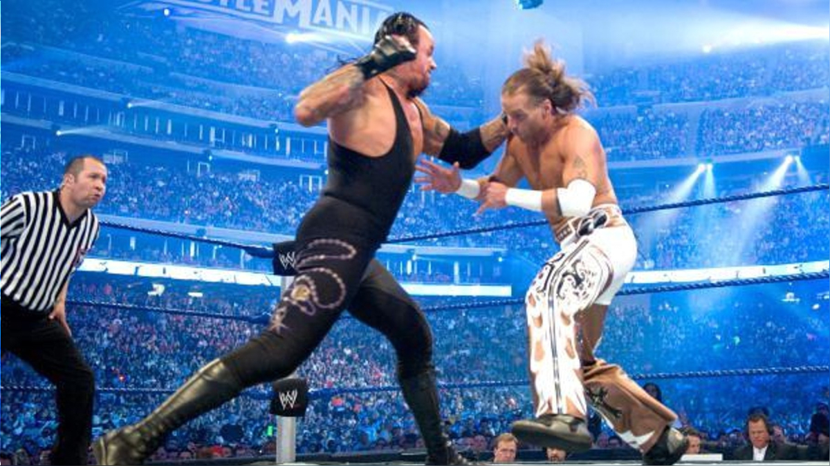 Undertaker vs. Shawn Michaels