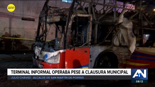 Alcalde de San Martín de Porres se pronuncia tras la tragedia en Fiori.