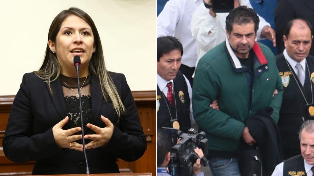 Congresista visitó en prisión a Martín Belaúnde Lossio hasta en cuatro ocasiones-