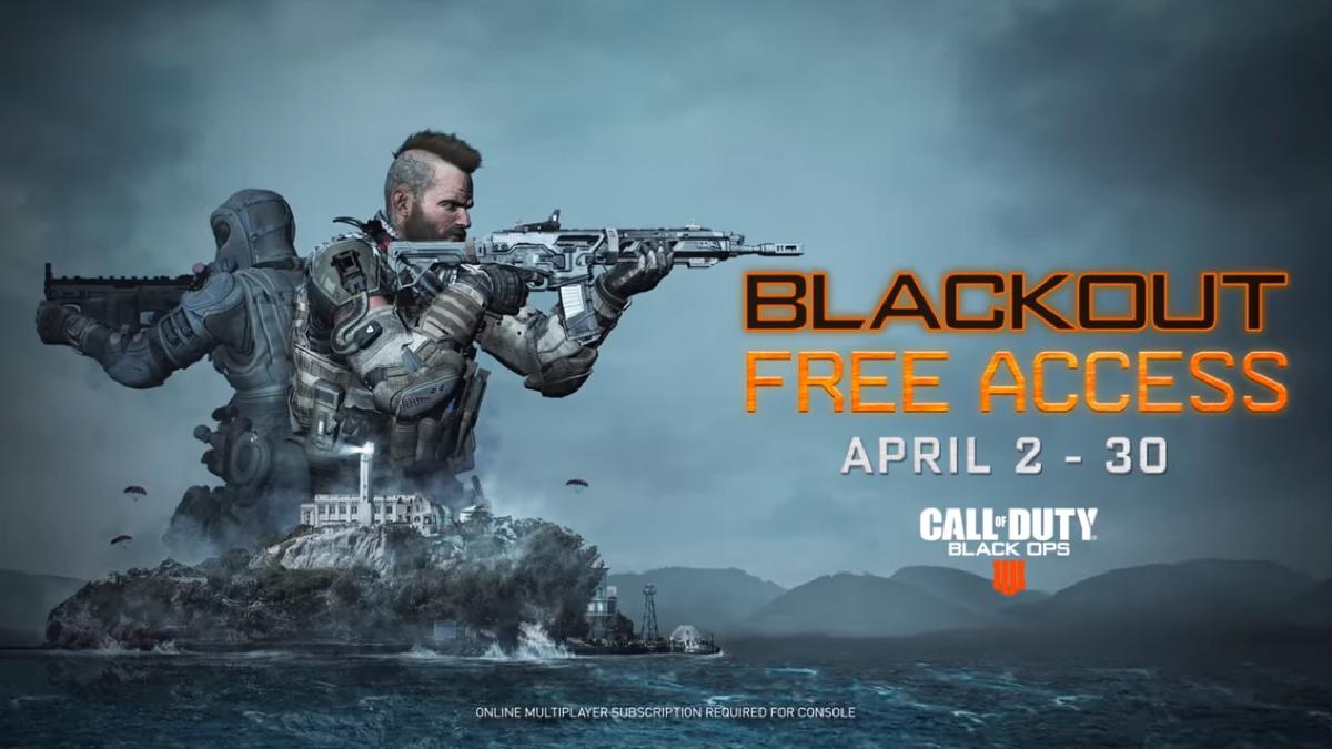 Podrás probar Blackout por todo un mes de manera gratuita.
