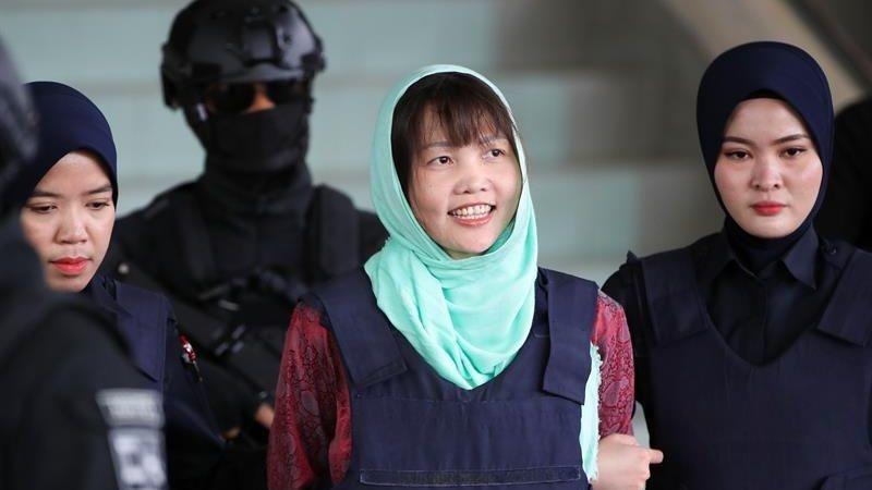 Doan Thi Houng fue condenada a tres años y cuatro meses de prisión.
