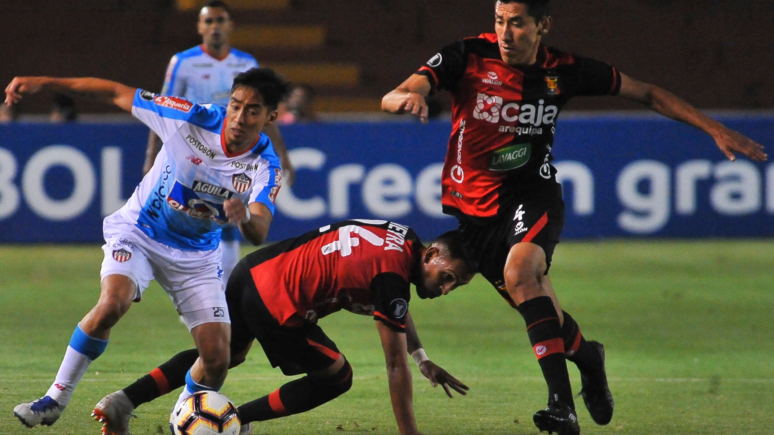 Melgar venció  1-0 a Junior con gol de Giancarlo Carmona