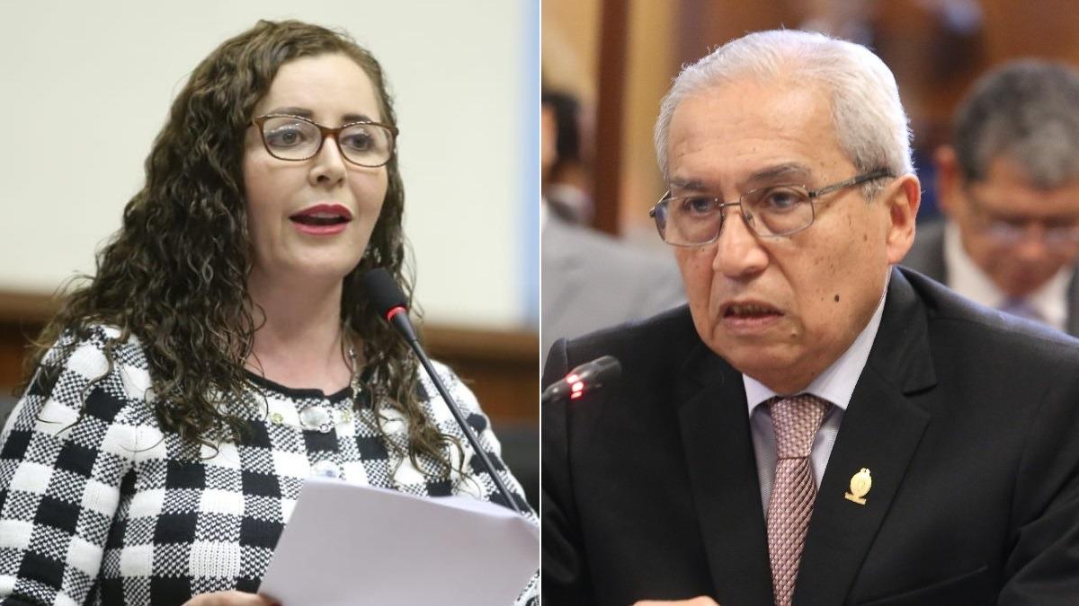 Rosa Bartra defendió la decisión de la Subcomisión de Acusaciones Constitucionales.