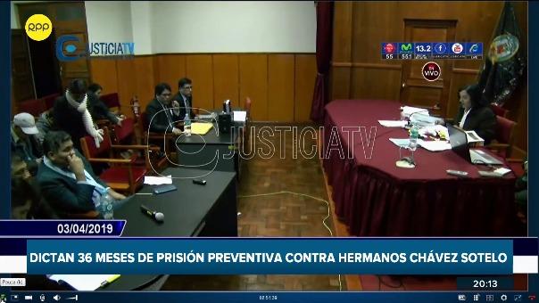 Los hermanos Chávez Sotelo son acusados por el presunto delito de extorsión en contra del proyecto minero Las Bambas.
