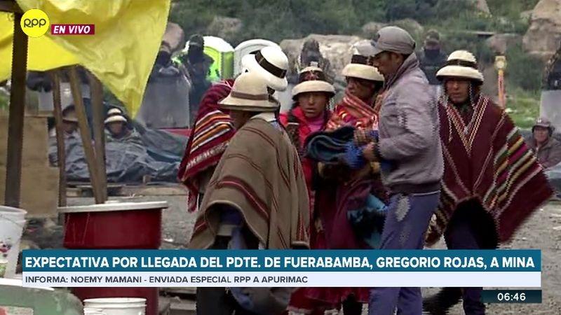 RPP Noticias llegó a la zona del conflicto minero.