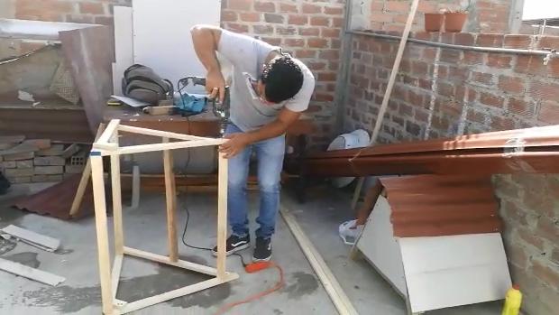Construcción de casitas