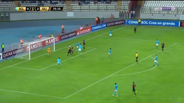 Este es el gol que Rodrigo Rojas le marcó a Sporting Cristal.