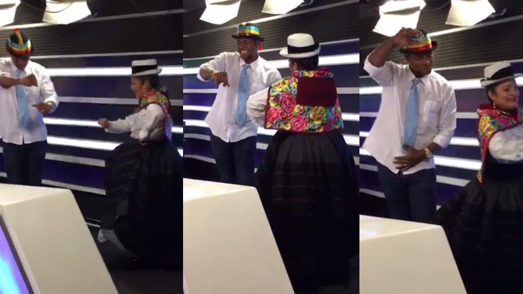Juan Chiquito Flores sorprendió bailando Tunantada.