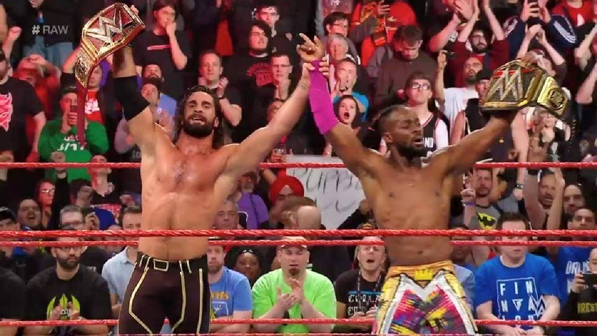 Seth Rollins Kofi Kingston