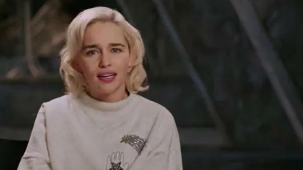 Emilia Clarke, que interpreta reina Daenerys, da detalles de su paso por