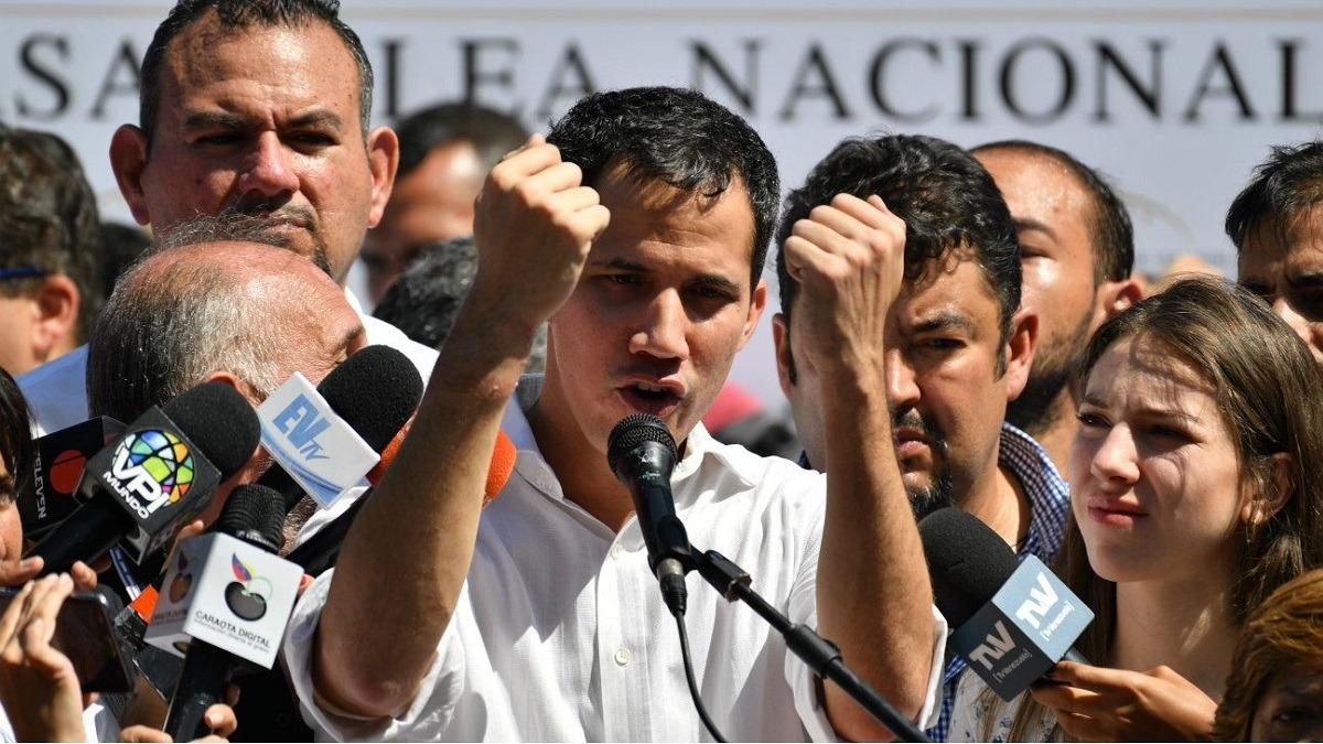 Juan Guaidó, presidente encargado de Venezuela, en RPP Noticias.