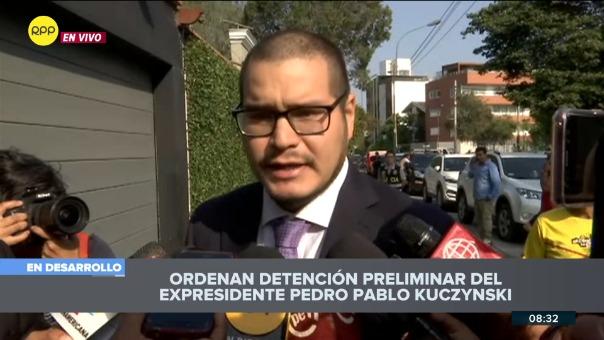 Renzo Miranda, abogado de Pedro Pablo Kuczynski.
