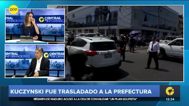 El exfiscal Avelino Guillén analiza la orden de detención preliminar contra PPK