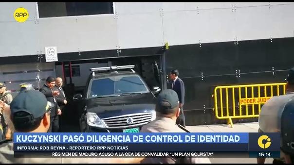 PPK pasa diligencias tras su detención.