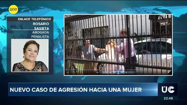 La abogada penalista, Rosario Sasieta, dijo en RPP que estas