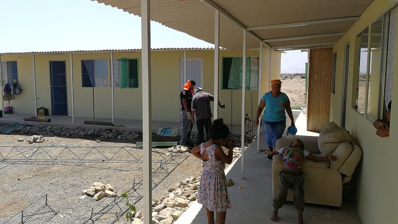 Familias venezolanas reciben ayuda