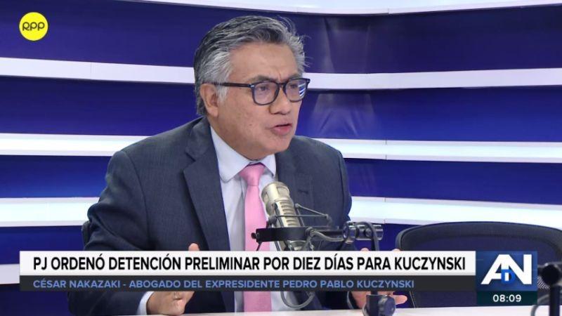 César Nakazaki estuvo esta mañana en Ampliación de Noticias.