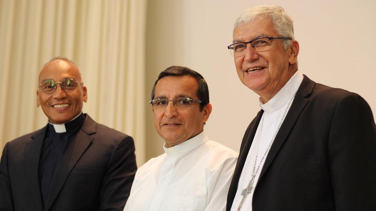 Obispos Auxiliares Electos de Lima fueron presentados en conferencia.