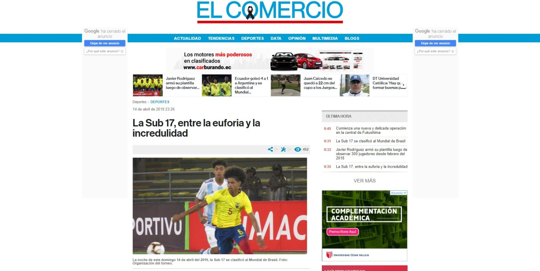 Diario El Comercio de Ecuador