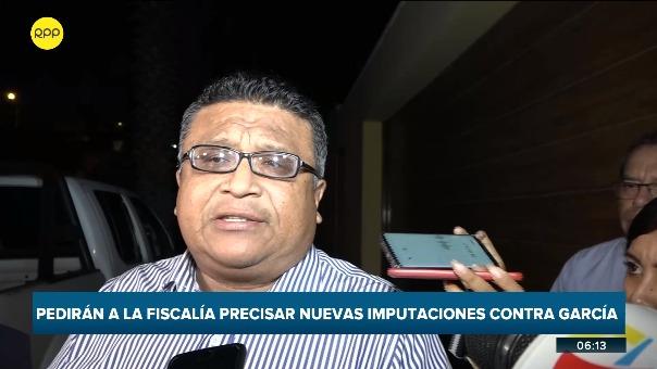 El abogado Gerardo Reyna se pronunció sobre los avances en la investigación del fiscal José Domingo Pérez.