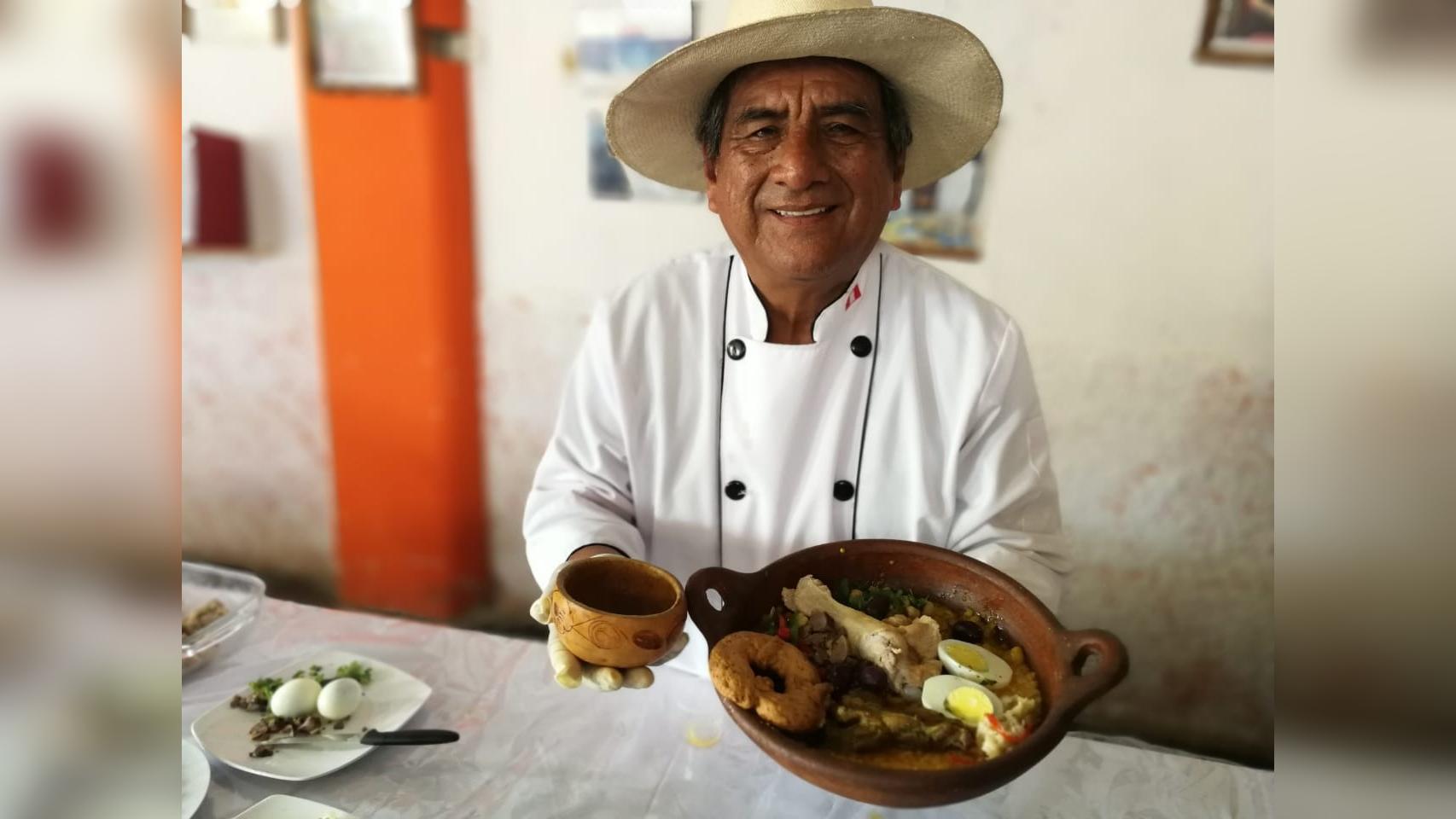 Jorge Sánchez, el reconocid chef de Moche, señala que sin los 29 insumos