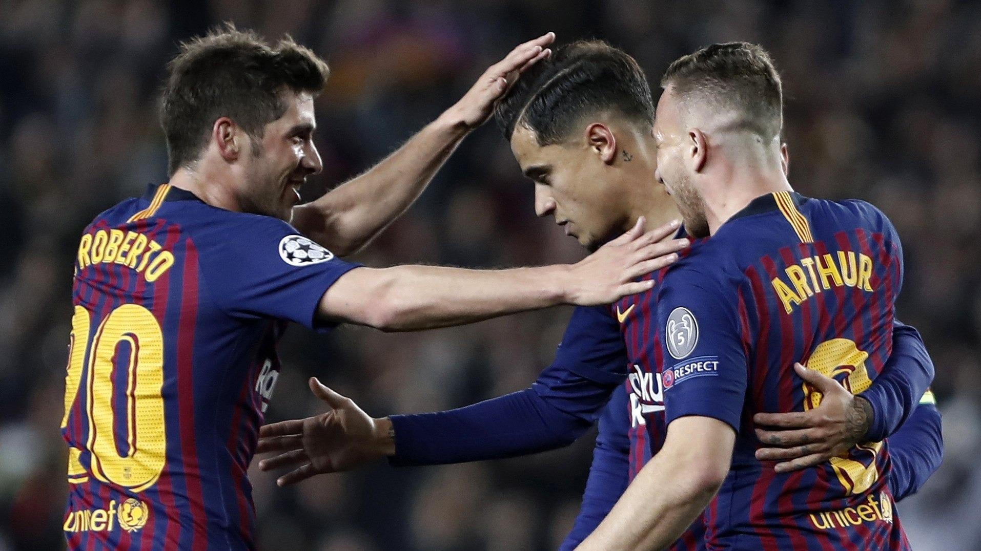 Barcelona venció 3-0 a Manchester United por la Champions League