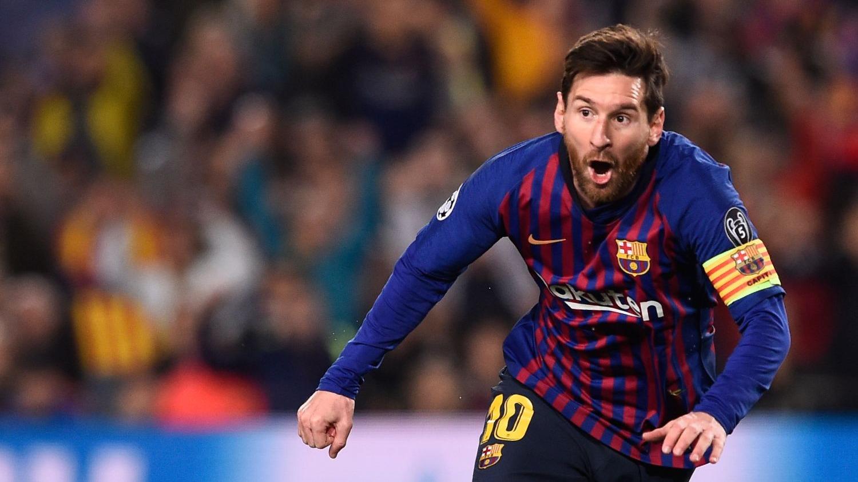 Lionel Messi anotó un doblete en la victoria de Barcelona ante Manchester United por la Champions League