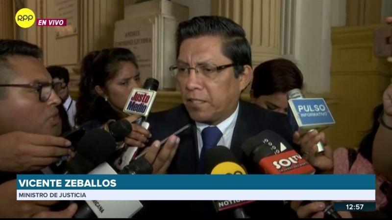 Vicente Zeballos aseguró que el diálogo en Challhuahuacho continúa.