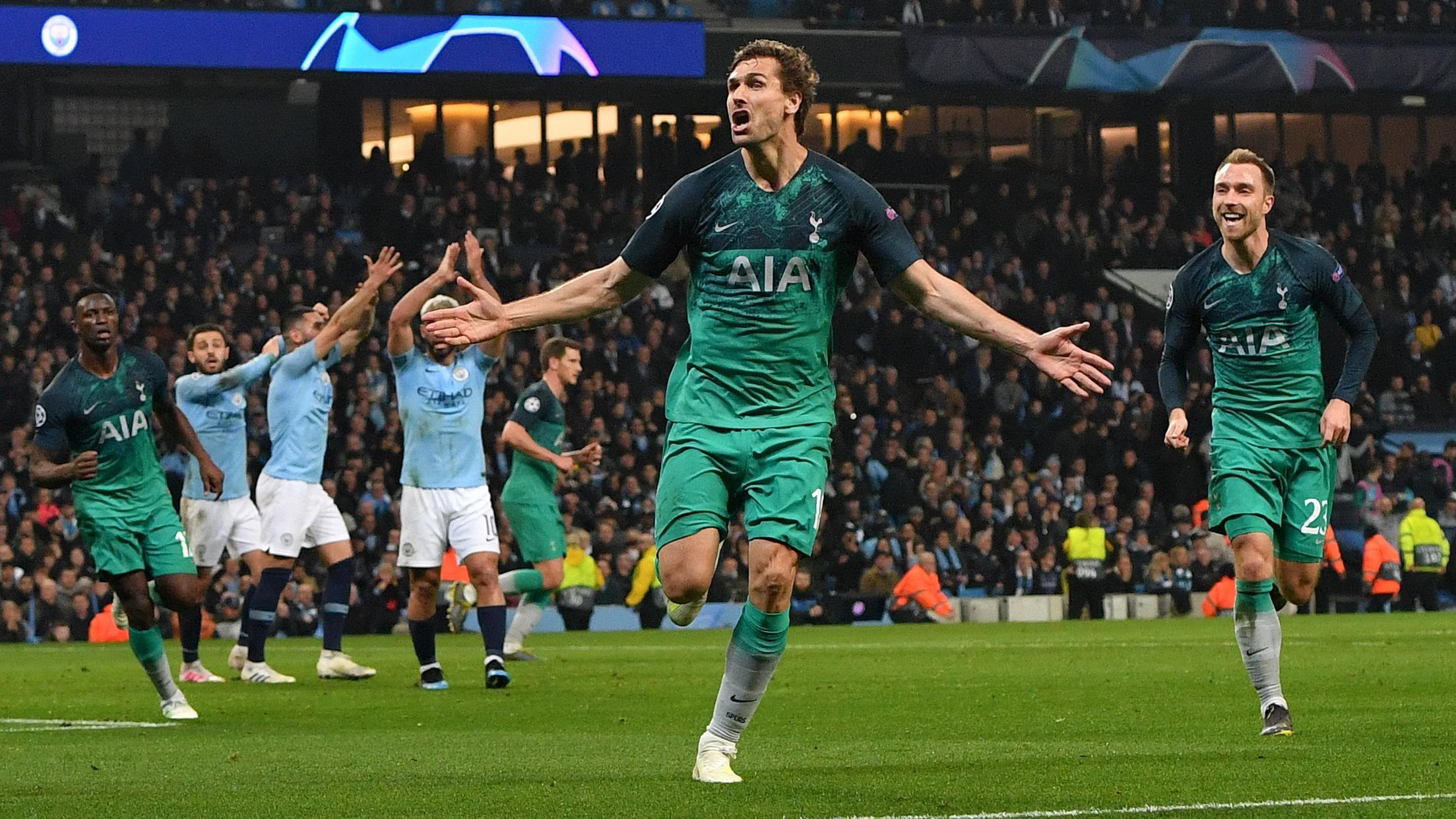 Llorente anotó uno de los goles del Tottenham