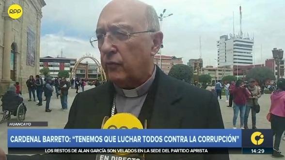 Cardenal Pedro Barreto Jimeno.
