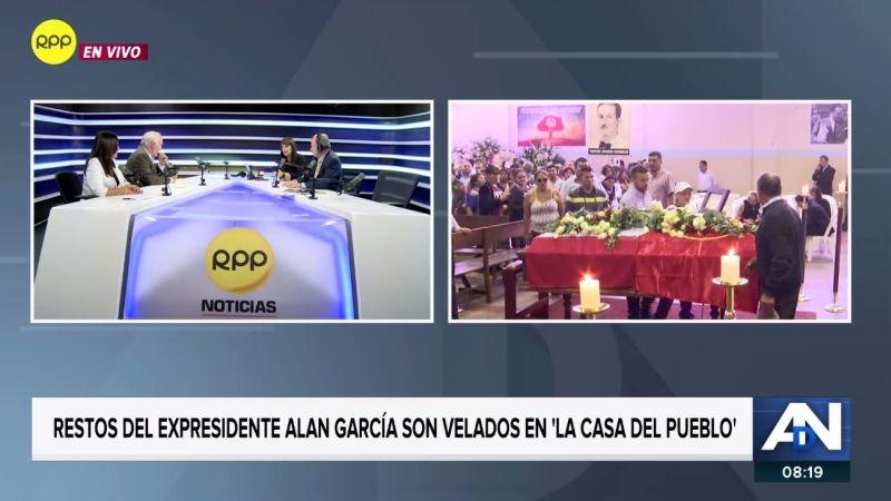 Un panel analizó el legado del expresidente Alan García, quien ayer se suicidó antes de ser detenido por la Policía.