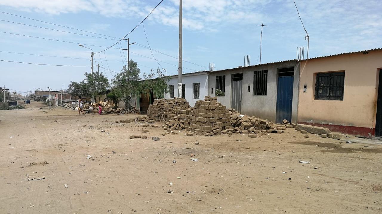 El sector Alan García se ubica a 30 minutos en microbús o auto desde el centro de Trujillo.
