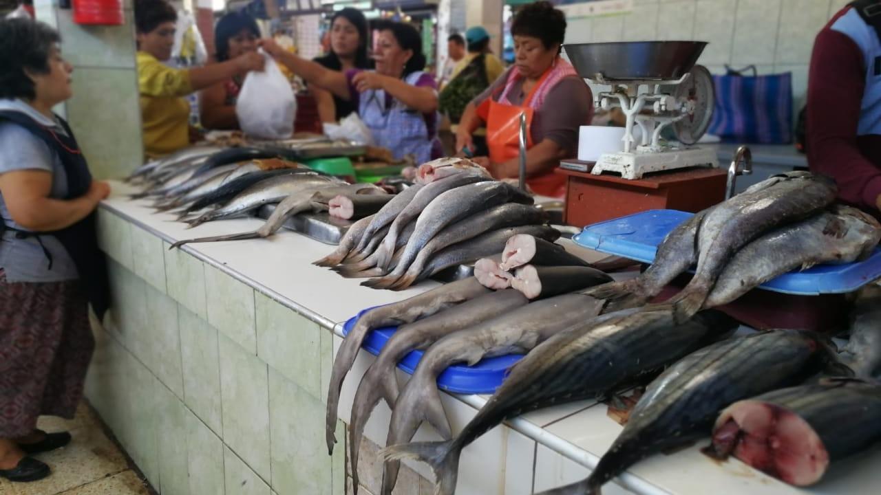 El precio del pescado va desde los 5 hasta 14 soles el kilo, según la especie.