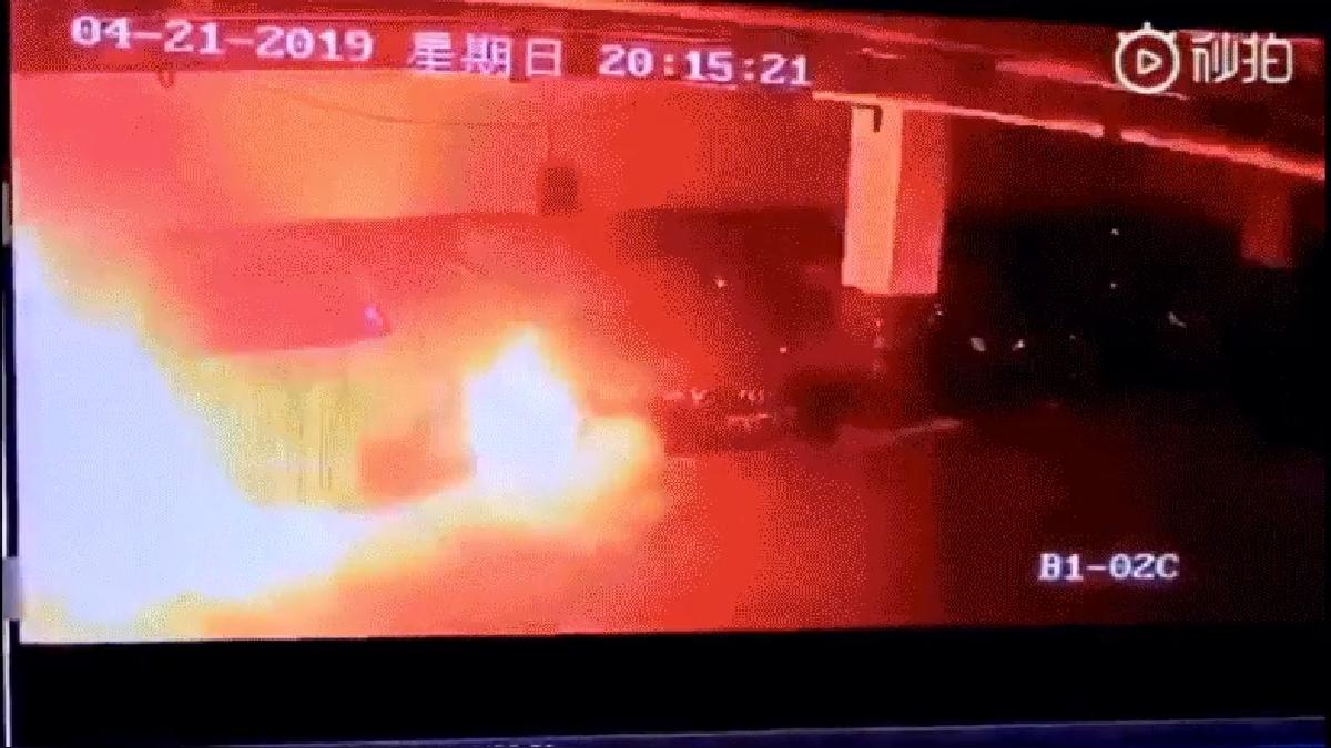Explosión Tesla