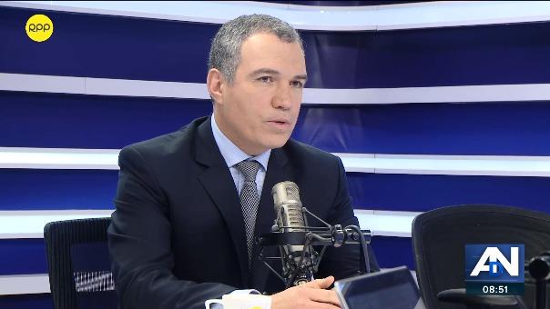 Salvador del Solar, presidente del Consejo de Ministros, en RPP Noticias.