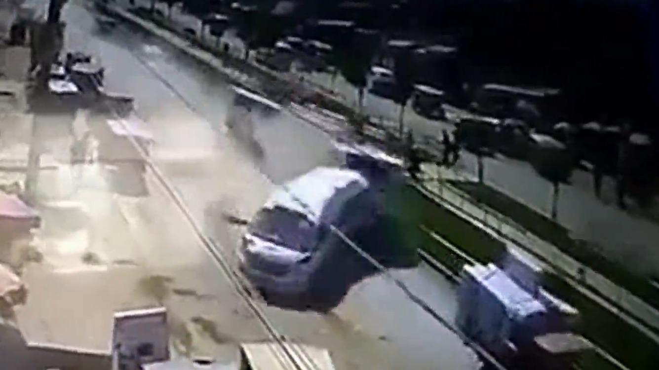El accidente dejó varios heridos.