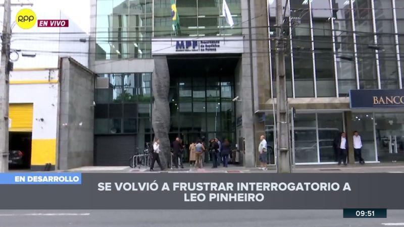 El fiscal Carlos Puma habló escuetamente con RPP Noticias.