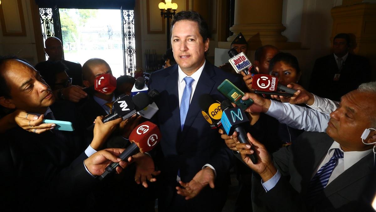 Daniel Salaverry se mostró en contra de la propuesta de algunos legisladores.