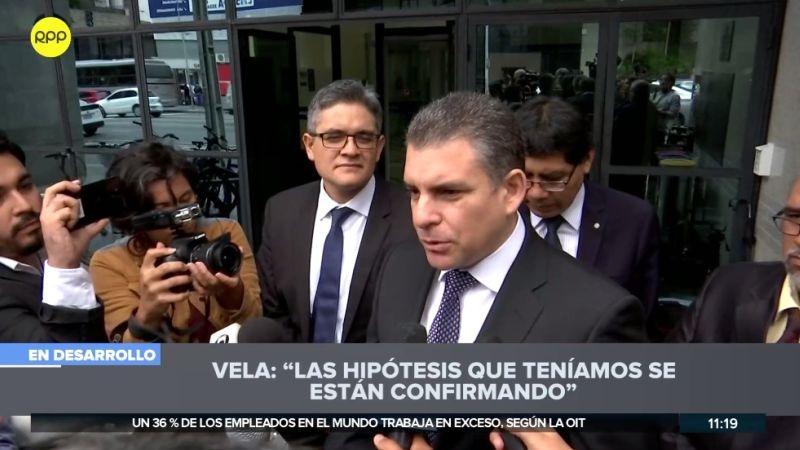 Rafael Vela declaró a la prensa tras el interrogatorio realizado a Jorge Barata.